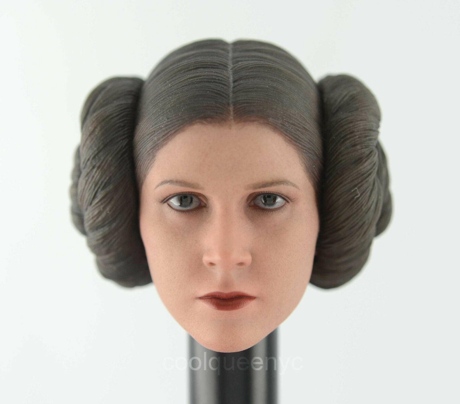 Hot Toys 1/6 Scale MMS298 Star Sculpt Wars Princess Leia Figure - Head Sculpt Star 81243c