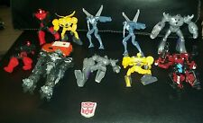 Transformers action figure lot 12 toys kids transformer movie dvd megatron cool