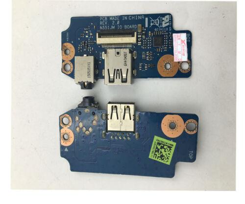 For ASUS N551J N551JM Audio Board N551JM USB Board IO Board Rev2.0