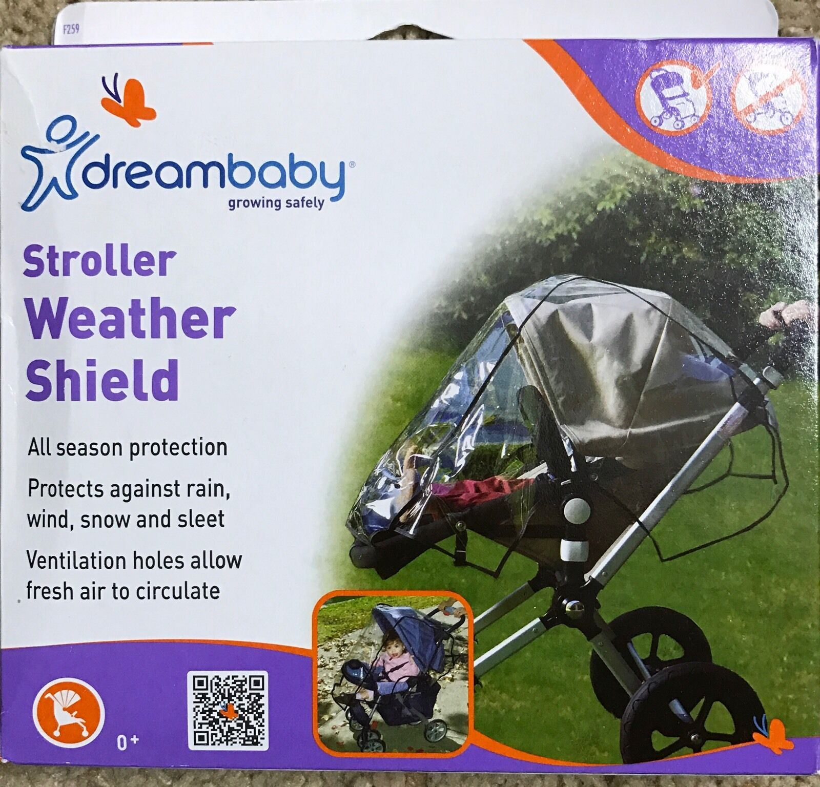 Clear Dreambaby Weather Shield