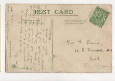Miss Grace Dowie East Cromwell Street Leith 1912  746a