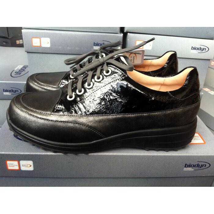 Biodyn 3108 scarpe scarpe salute pelle taglia 3742 MADE IN GERMANY Nero