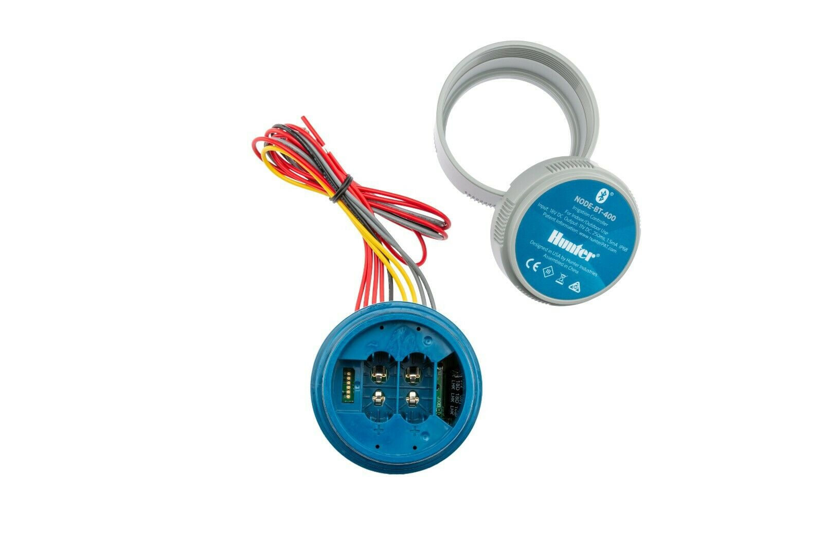 Hunter Node Bluetooth Battery Controller 1,2, or 4 Zones with or without Valves