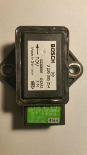 BOSCH MAZDA RX8 Sensore Di Imbardata Tasso 0 265 005 254