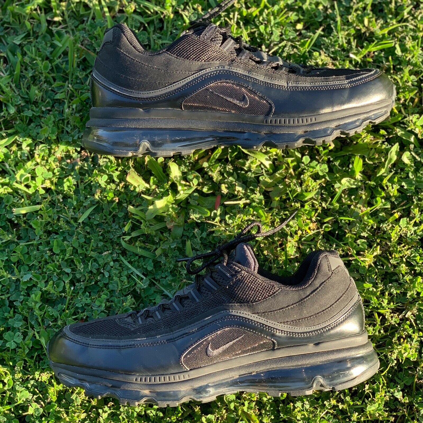 Nike Air Max 24-7 Mens 13 Anthracite  Metallic