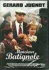 DVD - MONSIEUR BATIGNOLE avec GERARD JUGNOT, JULES SITRUK / COMME NEUF