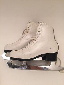 Risport-Laser-White-Women-039-s-Ice-Figure-Skates-Club-2000-Sheffield-size-35-US-4