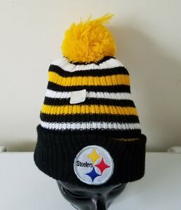 a3514400b7b59 Pittsburgh Steelers Miller Lite Beer Winter Pom Knit Ski Toque Tuque ...