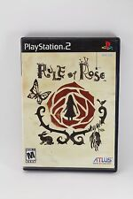 *Please Read Complete but condition* Rule of Rose (Sony PlayStation 2, 2006)