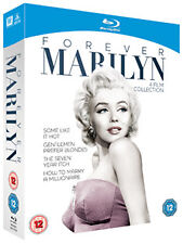 FOREVER MARILYN - THE BLU-RAY COLLECTION  - BLU-RAY - REGION B UK