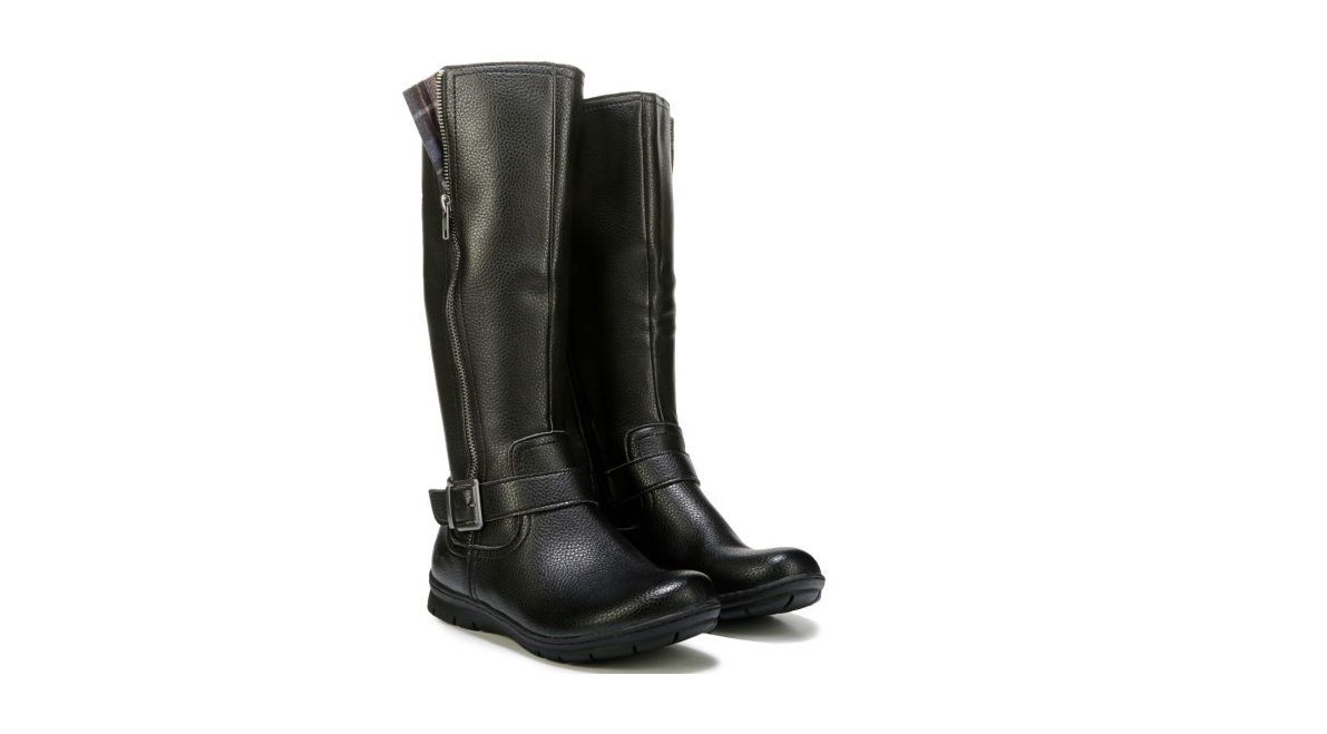 NEW BORN B.O.C PAULINE schwarz TALL RIDING Stiefel damen  7.5 Z36609