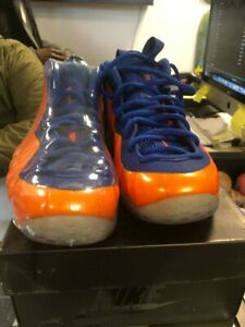 more photos 8d4cc 8387f Details about Nike Air Foamposite One NY Knicks Sneakers Size 10 new york
