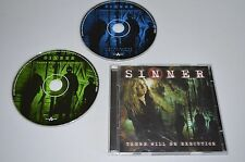 Sinner - There Will Be Execution / Nuclear Blast 2003 / CD + Single