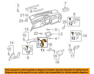 TOYOTA-OEM-06-09-Prius-Instrument-Panel-Dash-Air-Vent-Grille-Left-5567047060