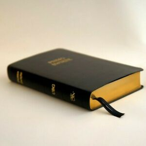 Polish-Protestant-Bible-medium-size-vegan-leather-Christmast-gift-for-family