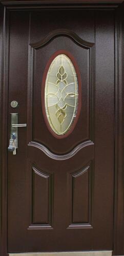 Sécurité intérieur gauche 95x205cm Porte Porte en acier portes Porte