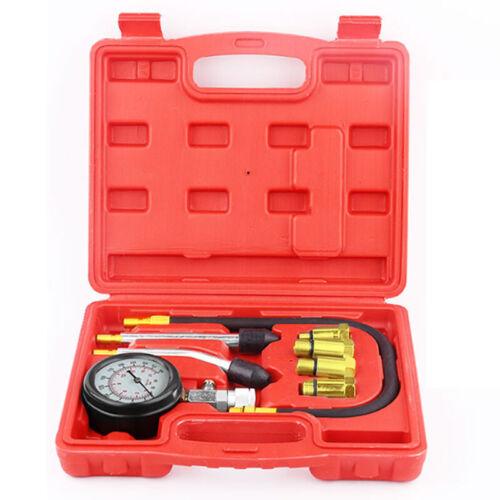 Diesel Petrol Engine Cylinder Pressure Tester Car Compression Gauge Meter 300Psi