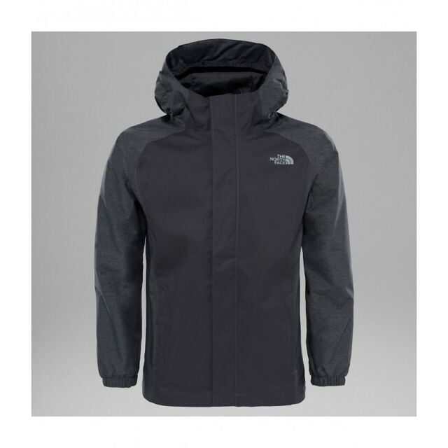 2cf7acab33c7 The North Face Junior B Resolve Reflective JKT - Graphite Grey S for ...