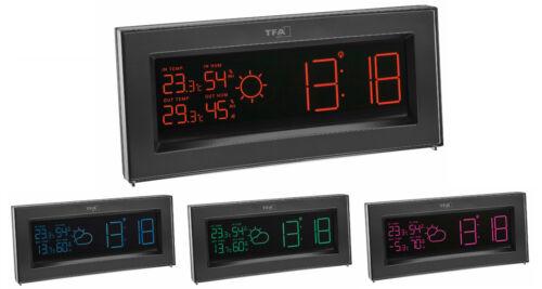 Radio Stazione Meteo coloris TFA 35.1147.01.it stazioni meteorologiche display cambio colore