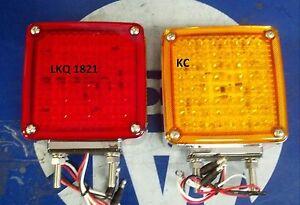 kenworth w900 118led turn signals double stud k256 554. Black Bedroom Furniture Sets. Home Design Ideas