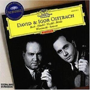 DAVID/OISTRACH,IGOR OISTRACH - WERKE FÜR 2 VIOLINEN  CD NEUF