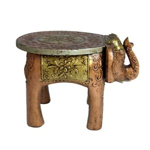 Phenomenal Details About Wooden Stool Elephant Home Decor Handicraft Gift Foot Stool Step Stool 8 Dailytribune Chair Design For Home Dailytribuneorg