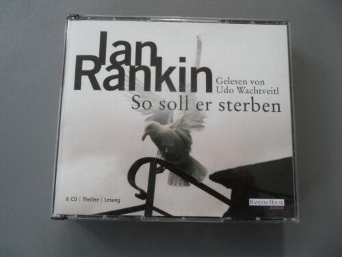 1 von 1 - So soll er sterben von Ian Rankin Hörbuch 6 CDs Top gelesen von Udo Wachtveitl