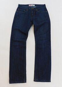 44463f5bd50 Levis Jeans Performance 511 Slim Dark Blue Wash Boys Size 16 Reg 28 ...