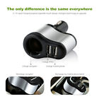 VODOOL 2 in 1 Car Charger Fast Dual-USB Cigarette Lighter Car Charger Adapter
