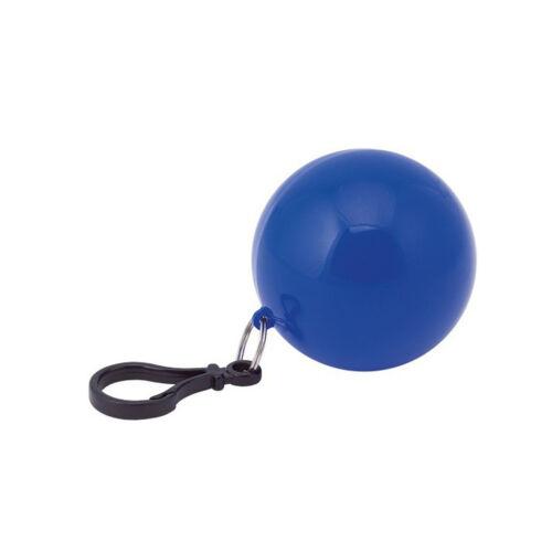 KINDER PONCHO REGENMANTEL MIT KAPUZE WASSERFEST MAC EINWEG SCHLÜSSELRING BALL