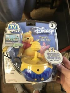 Disney Piglet's Special Day Plug & Play TV Game Winnie the Pooh New In Box