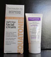 Dermactin Ts Night Time Facial Cream Equatone 2 Oz Skin Tone Correcting