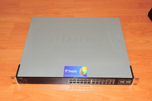 Linksys Cisco SGE2000 24-Port 10//100//1000 Gigabit Ethernet 6MthWty TaxInv