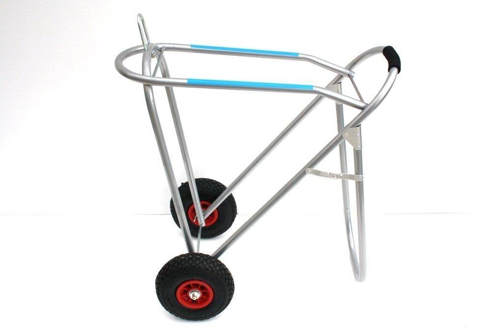 Sattelcaddy con neumáticos de aire carro sillín sattelbock con ruedas neumáticos