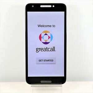Alcatel jItterbug (GreatCall) 4G LTE Smartphone Senior Friendly - Easy To Use
