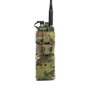 NEW-Eagle-Industries-MOLLE-Radio-Pouch-MBITR-PRC-142-Harris-PRC-152-Padded