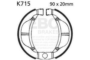 Ajuste Kawasaki KLX 110 R (KLX 110 A1/A2/A3/A4/A6F/A 02 >     17 EBC Delantero Zapatas de frenos