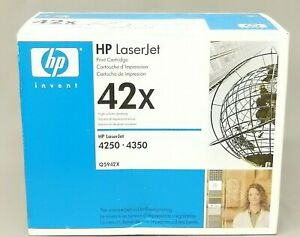 HP-Q5942X-42X-Black-Toner-Cartridge-LaserJet-4350-Genuine-New-Sealed-Box