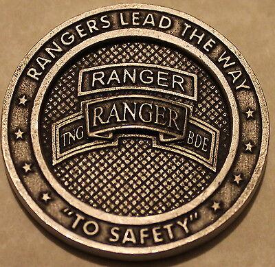 UNIQUE US Army 4th Ranger Infantry Training BN Benning Airborne Challenge Coin