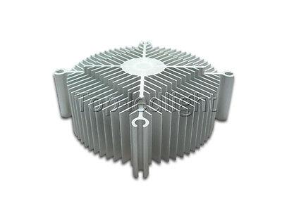 Aluminum Silver HeatSink Cooling for 20W / 30W High Power LED Light Lamp Emitter