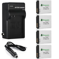 NB5L NB-5L Battery Charger For Canon PowerShot S100 SX200 SX210 IS SX230 HS
