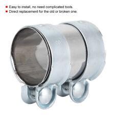 Conector de tubo de escape abrazadera doble abrazadera Ø 54 x 90 mm