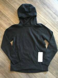 Lululemon Fleece Please Pullover Retail $98 BLK Black NWT Yoga ...