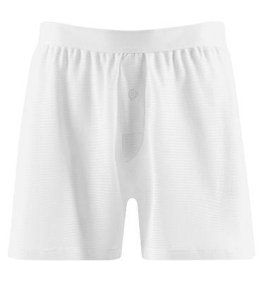 KüHn Sunspel Vintage Cellular White Classic Shorts 100% Cotton