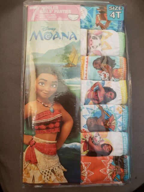 Disney Moana Girls Panties Underwear 7-Pack