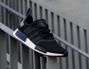 cdc3ae254 Adidas NMD R1 size 12.5. Core Black JD Sports Navy White. S76841 ...