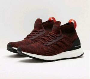 d0279c37a26 Adidas Ultra Boost ATR Mid Primeknit Burgundy Red S82035 Men s Size ...
