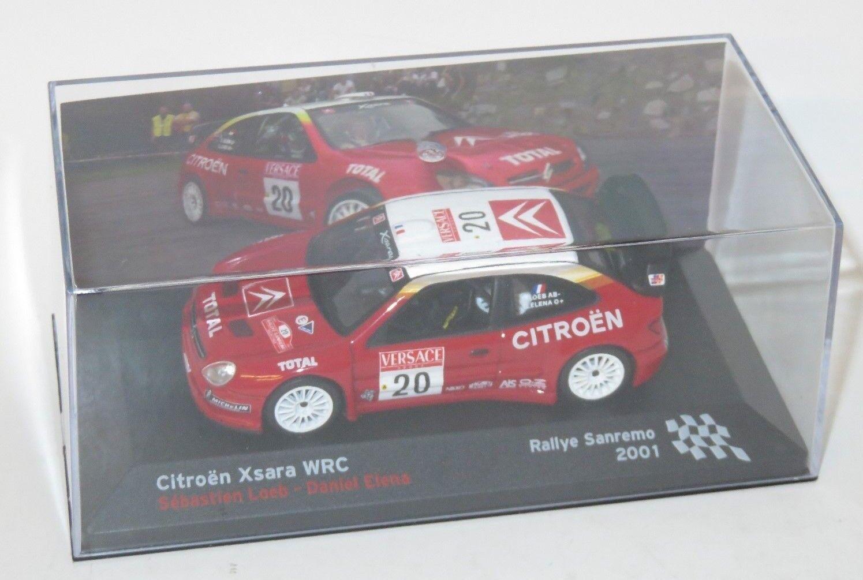 1 43 Citroen Xsara WRC  Rallye Sanremo 2001   D.Loeb   D.Elena