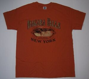 Vintage-90-039-s-The-Great-Outdoors-Niagra-Fall-New-York-T-Shirt-Lg-NWOT