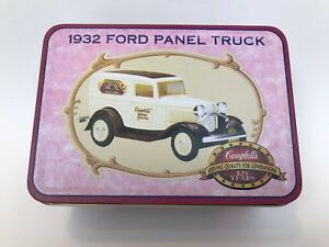 Campbell-039-s-1932-Ford-Panel-Truck-1-43-Scale-Collector-Tin-NEW-Ertl-Collectibles